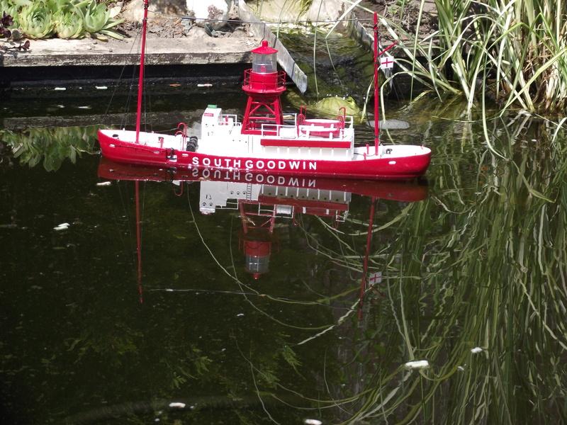 0n the garden pond Dscf8015