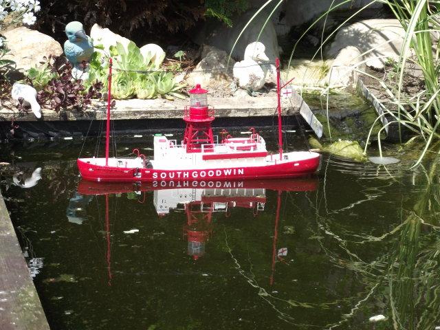 0n the garden pond Dscf8016