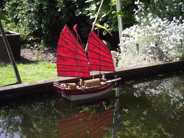 0n the garden pond Dscf8018
