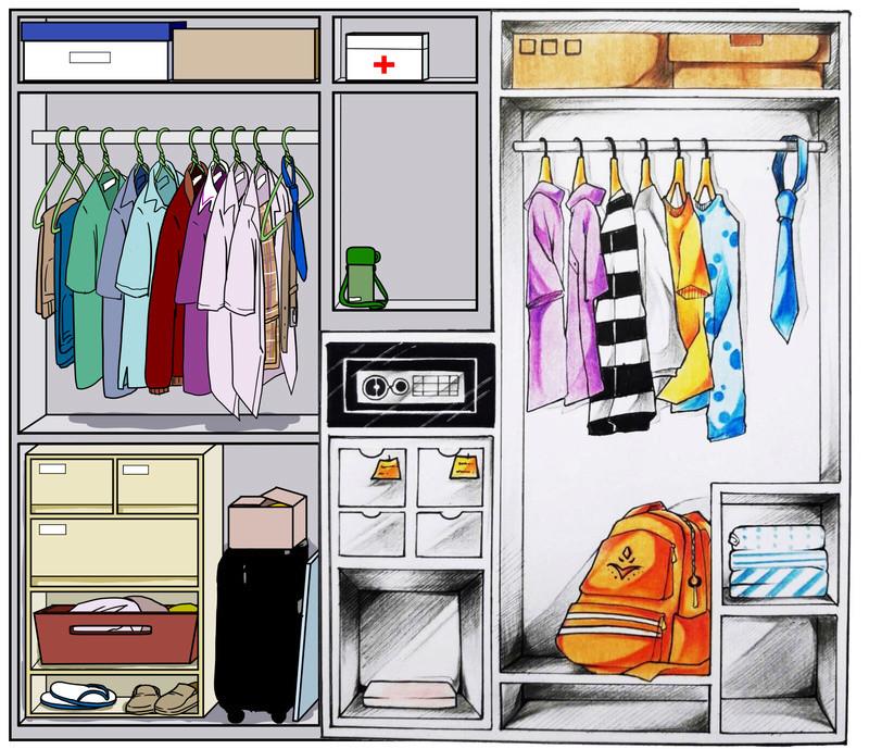 ROOMMATE 10 : Closet Aaauay10