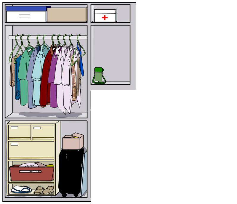 ROOMMATE 10 : Closet Aaauay11