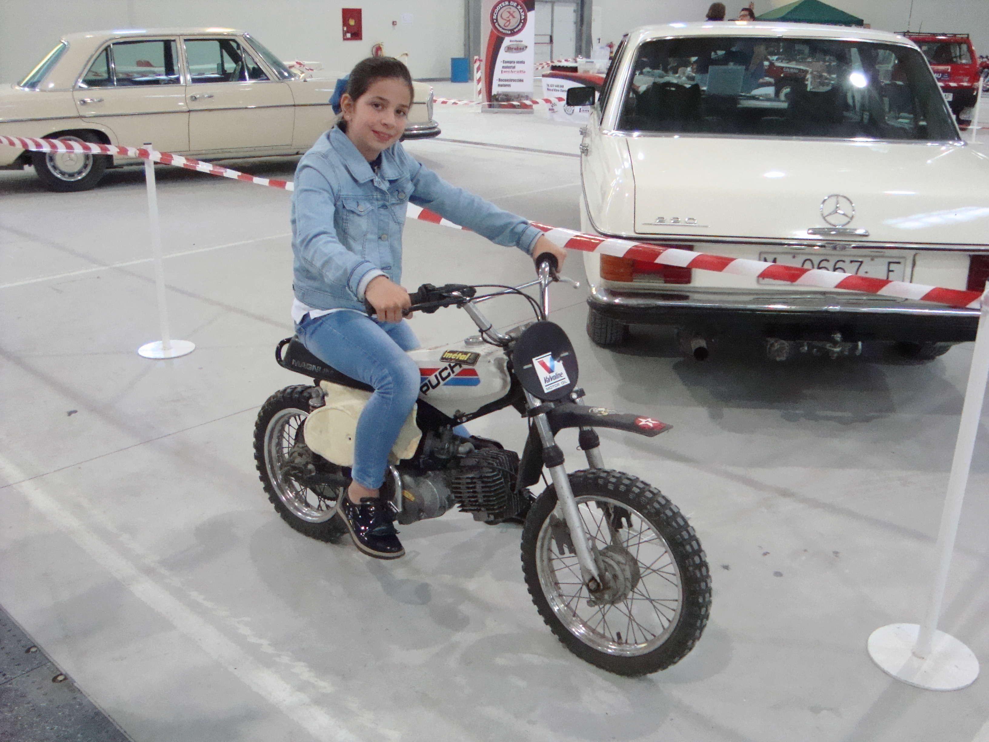 A la Feria de Ejea con las Puch por 2ª vez Dsc02424