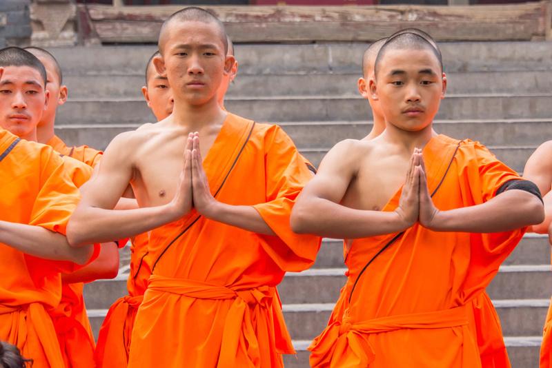 Шаолинь - поездки в древний монастырь Monks10