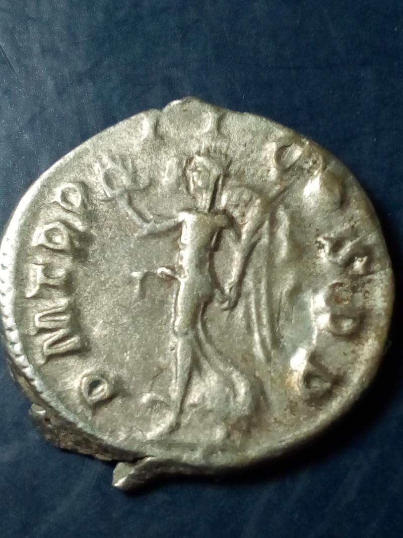 Antoniniano de Gordiano III.  P M TR P II COS P P. Victoria, ceca de Roma. Img_2102