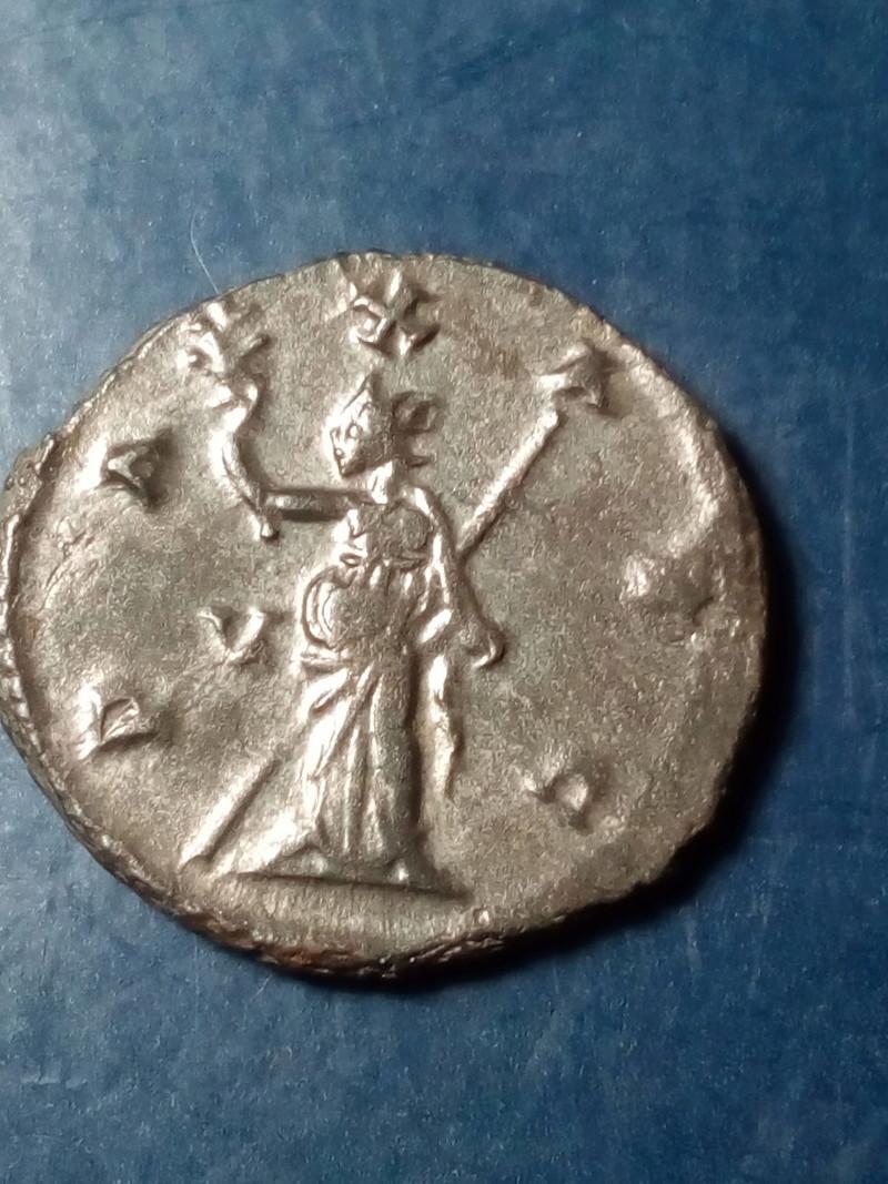 Antoniniano de Galieno. PAX AVG. Pax estante a izq. Roma. Img_2122