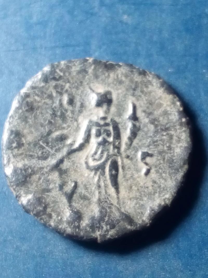 Antoniniano de Galieno. FORTVNA REDVX. Fortuna estante a izq. Roma Img_2144