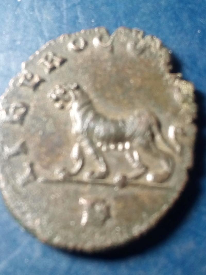 Antoniniano de Galieno. LIBERO P CONS AVG. Pantera a izq. Roma Img_2170