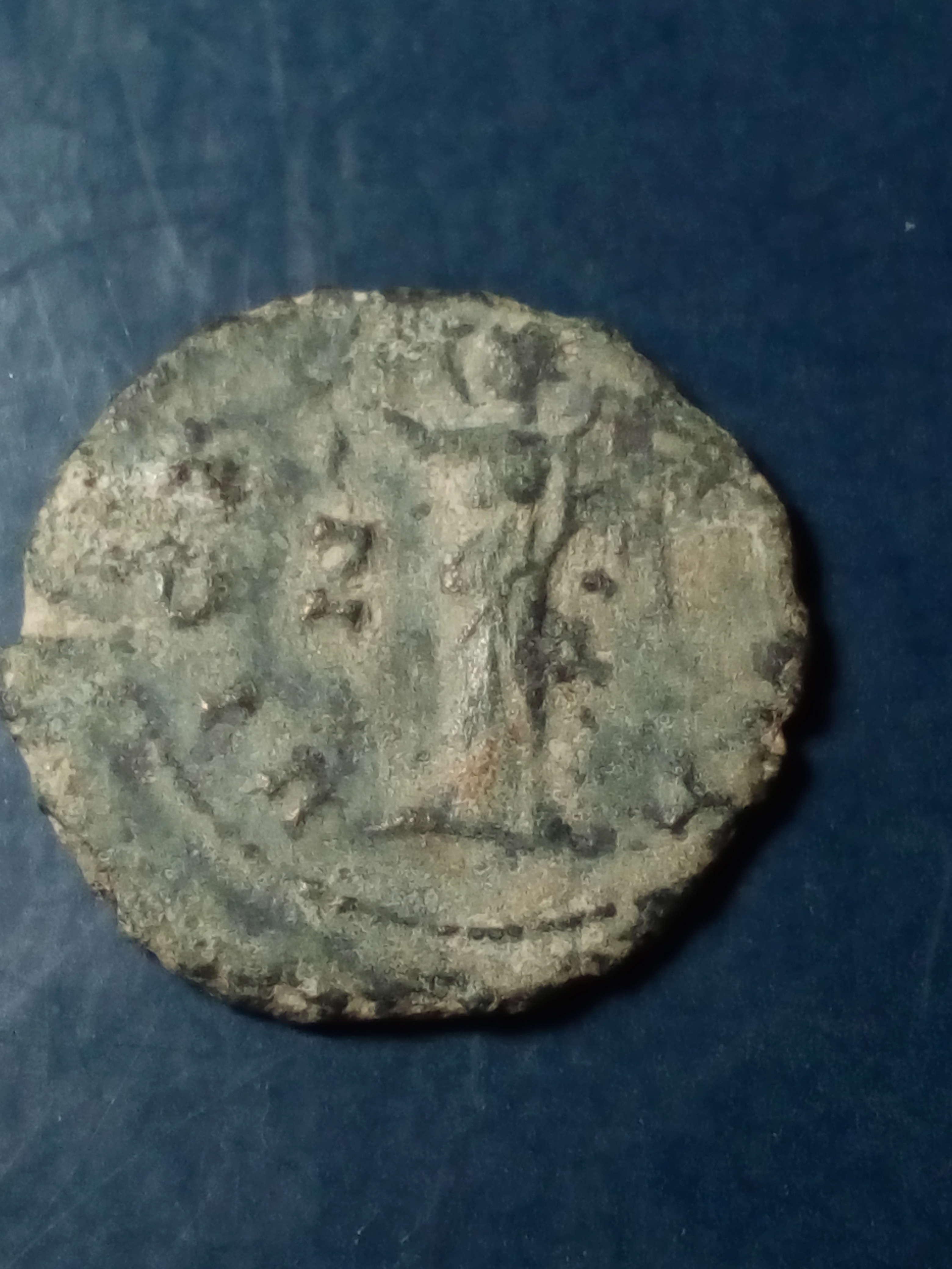 Antoniniano de Galieno. VICTORIA AET. Victoria a izq. Roma Img_2284