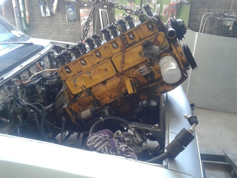 Retirar motor do carro com cambio ou sem? 20161016