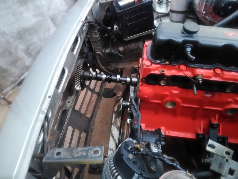 Passo a Passo simples pra troca do comando de valvulas com motor no cofre 810