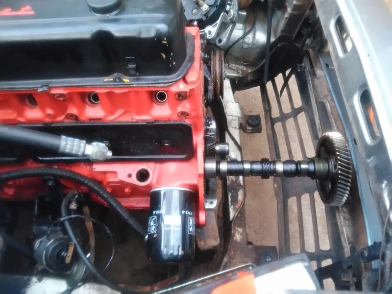 Passo a Passo simples pra troca do comando de valvulas com motor no cofre 910