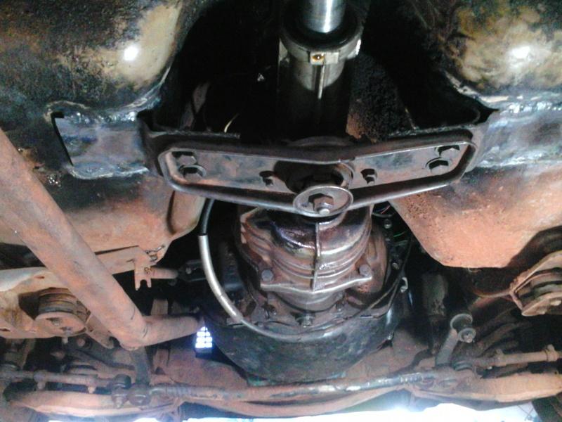 Instalação de Cambio CL 2205B em Opala 74 Img_2012