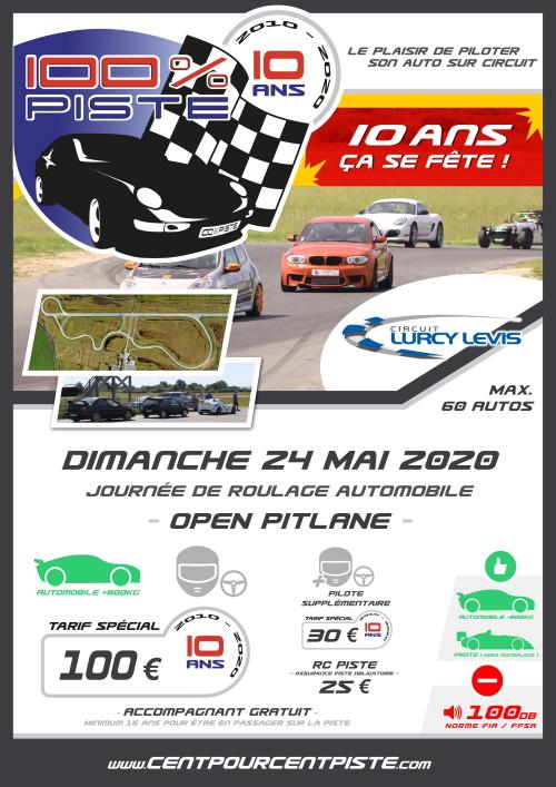[24 Mai 2020] journée 100% PISTE à LURCY-LEVIS [ANNULE] Affich14
