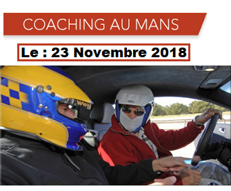 URGENT : COACHING possible au Mans le 23 Nov.2018.[ANNULE] Coachi21