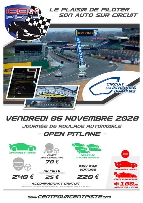 [06 Novembre 2020] 100% PISTE au MANS Bugatti [ANNULE] Fliyer22