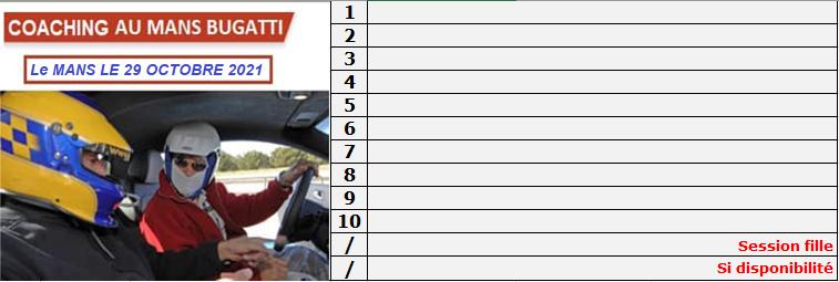Coaching de 30 mn gratuit le 29 Octobre au Mans.. Liste_11