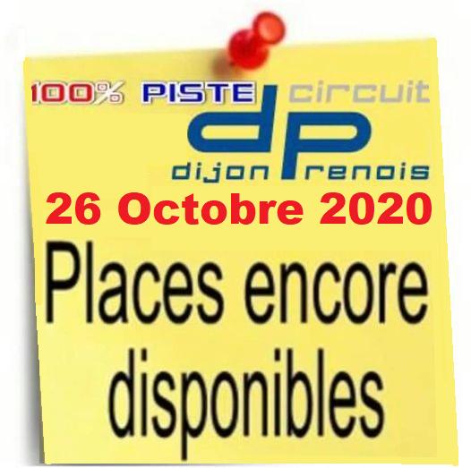 [26 Octobre 2020] 100% PISTE à DIJON - Page 2 Places10