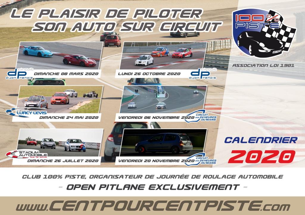 Calendrier 100% Piste «Saison 2020» Saison11
