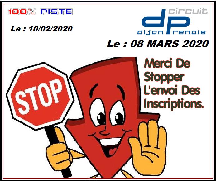 [08 Mars 2020] Journée 100% PISTE à DIJON [COMPLET] - Page 3 Stopdi10