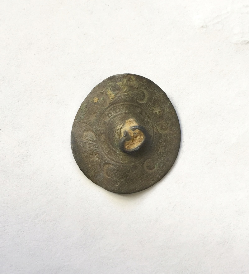 Botón plano sin decorar, tipo M1.1 Img_5314
