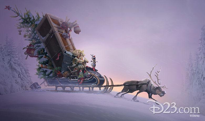 [Moyen-Métrage Walt Disney] Joyeuses Fêtes avec Olaf (2017) - Page 5 780w-413