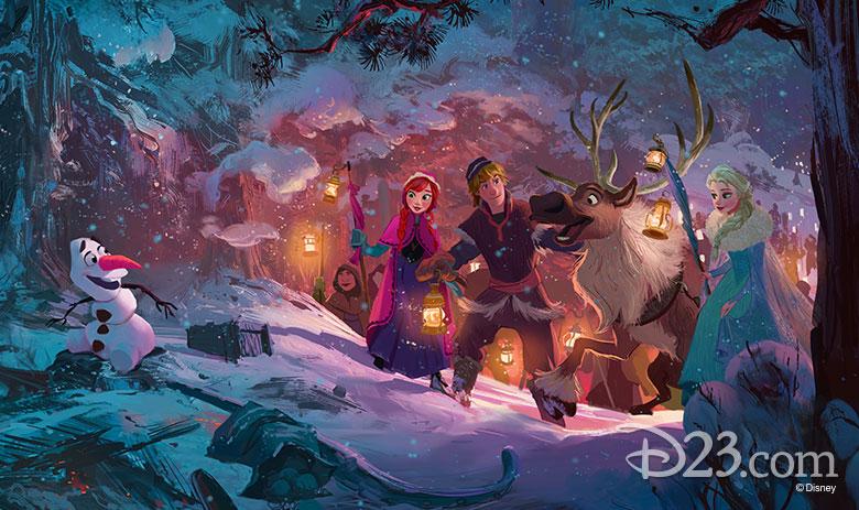 [Moyen-Métrage Walt Disney] Joyeuses Fêtes avec Olaf (2017) - Page 5 780w-414