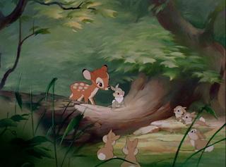 [Grands classiques Disney] Quel est, selon vous, le meilleurs univers graphique ? Bambi-10