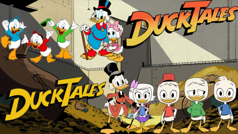 Les  3 neveux de Donald Duck Duckta10