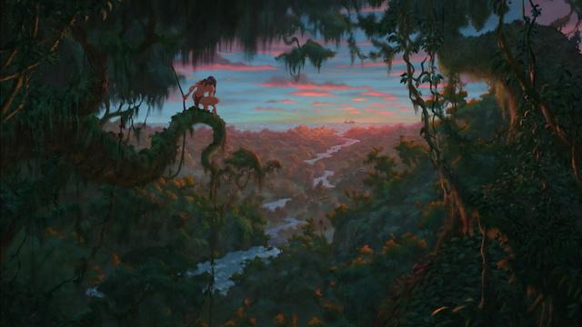 [Grands classiques Disney] Quel est, selon vous, le meilleurs univers graphique ? Tarzan10