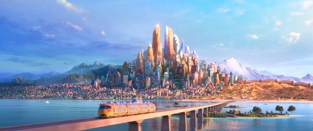 [Grands classiques Disney] Quel est, selon vous, le meilleurs univers graphique ? Zootop12