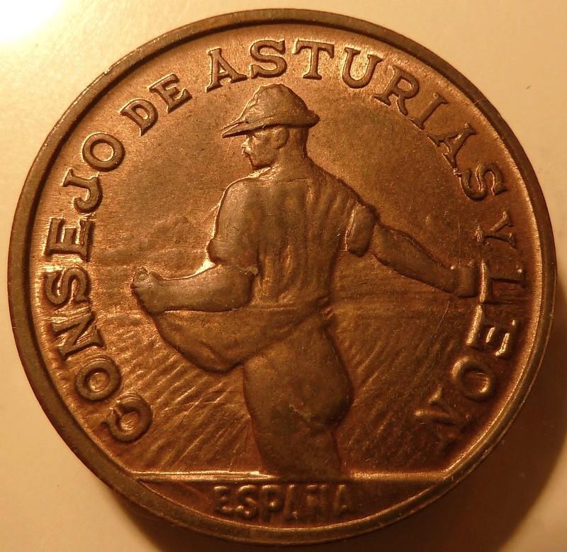 1 Peseta 1937. Consejo de Asturias y León P1120930
