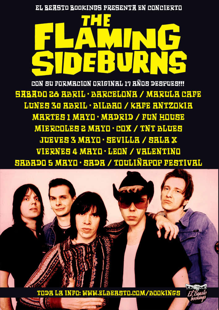THE FLAMING SIDEBURNS - Página 2 Promow20