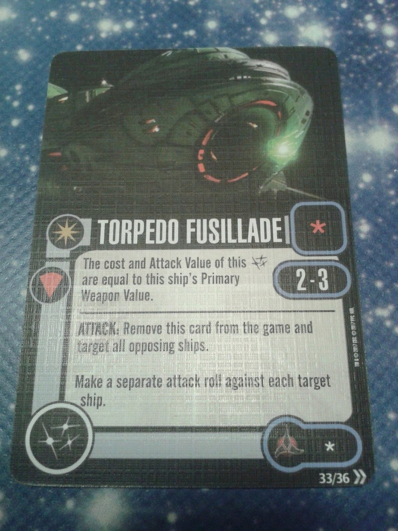 Klingonen: Torpedo Fusillade und Advanced Weapon System 65359e10