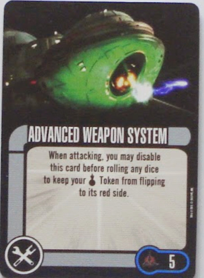 Klingonen: Torpedo Fusillade und Advanced Weapon System 97fd1210
