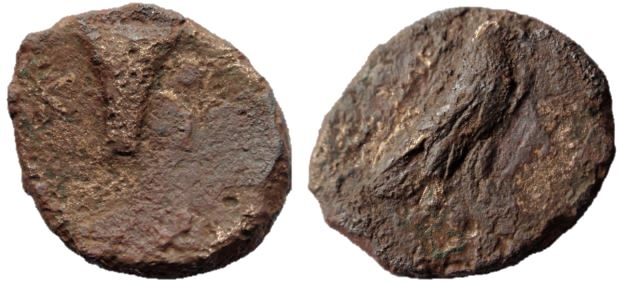 AE 16 de Kyme, Aeolis Aeolis10