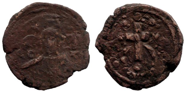 Follis anónimo atribuida al reinado de Alejo I Alexiu10