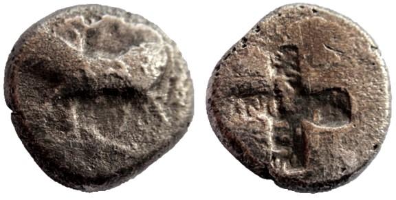 Hemidracma de Bizantion. Prata_10