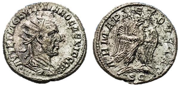 Tetradracma de Trajano Decio Trajan10