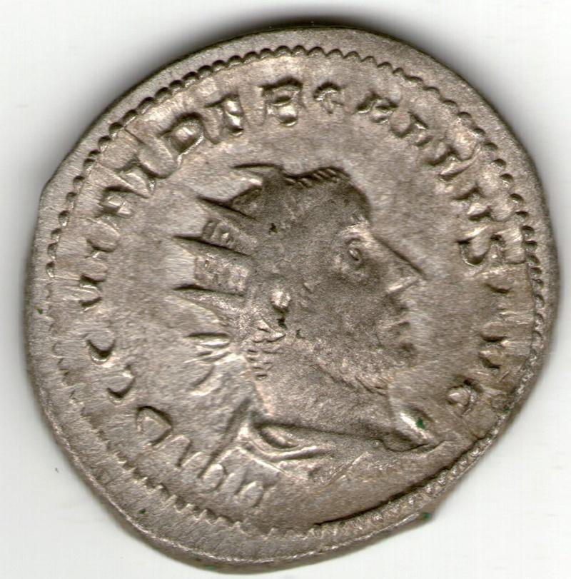 Antoniniano de Treboniano Galo. PAX AETERNA. Milán Smg_8710