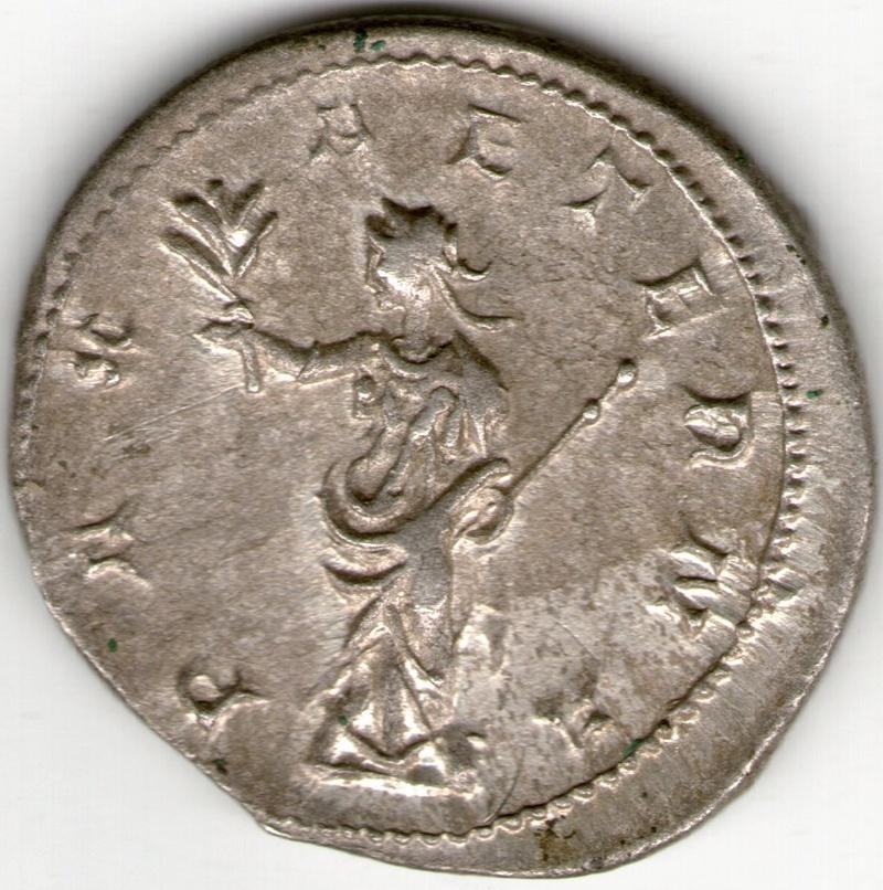 Antoniniano de Treboniano Galo. PAX AETERNA. Milán Smg_8711