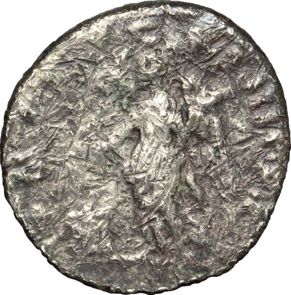 Denario de Trajano. P M TR P COS IIII P P. Victoria Smg_8819