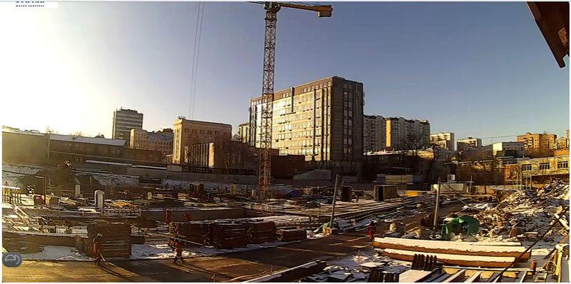 Веб-камеры на площадке строительства ЖК «Серебряный фонтан»  - Страница 2 1110