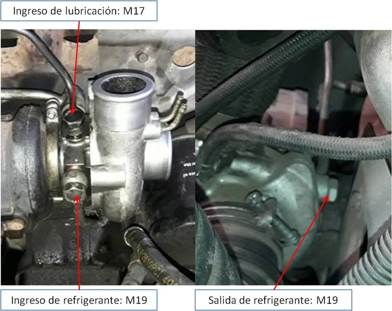 Tutorial. Cambio de cuerpo central turbo L200/Montero NO TGV Conexi11