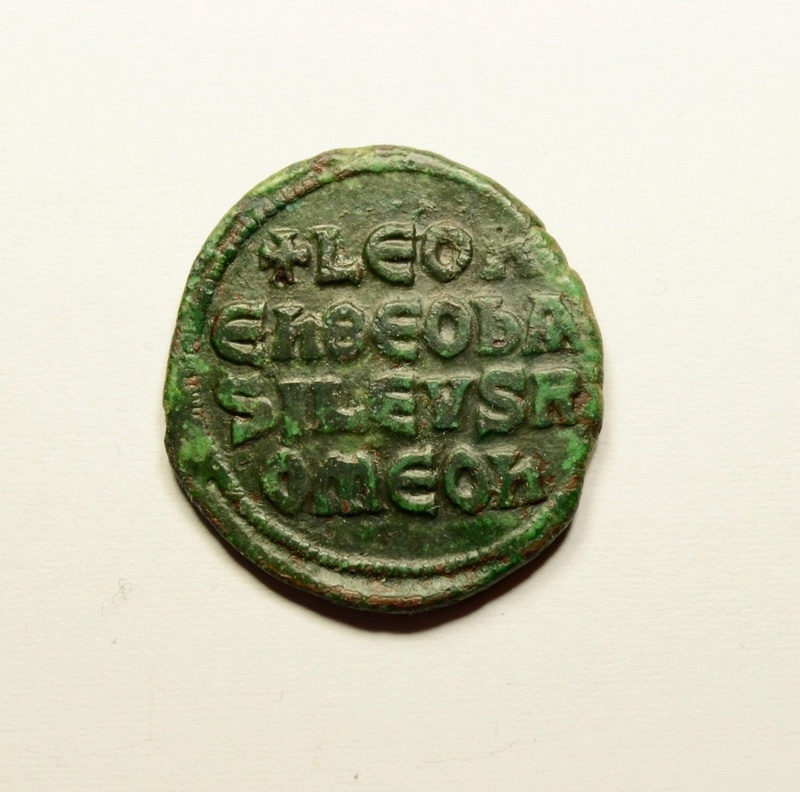 Follis de León VI. Bizant10