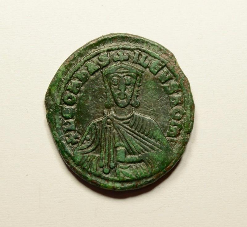 Follis de León VI. Bizant11