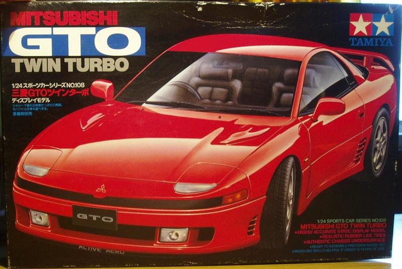 MeC: Mitsubishi 3000 VR4 Tamiya 1/24 Folder11
