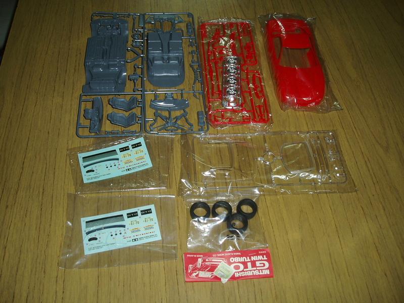 MeC: Mitsubishi 3000 VR4 Tamiya 1/24 P4080111