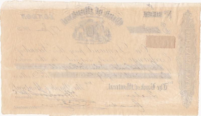 Letra de Cambio - Bank of Montreal (1905) 1905_l10