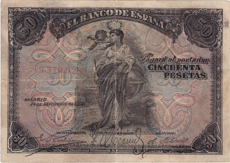 Billetes Falsos de Época 1906_p10