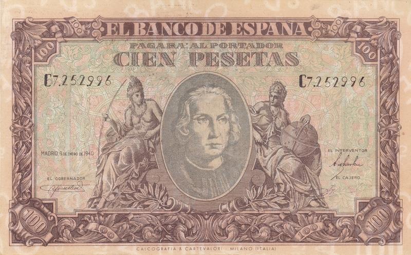Billetes Falsos de Época 1940_p10